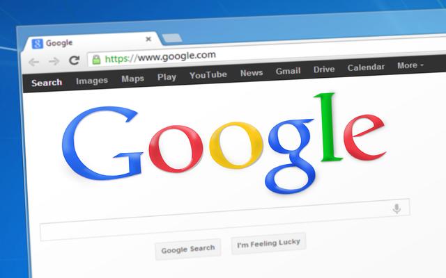 website niet gevonden in Google