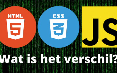 HTML, CSS, JAVASCRIPT | Wat is het verschil? (+voorbeelden)