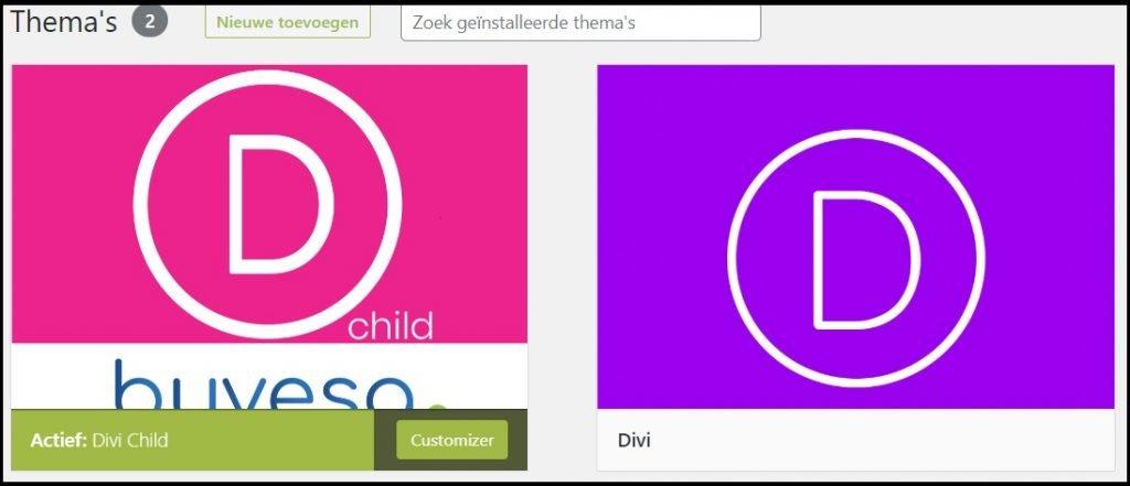 divi child parent theme